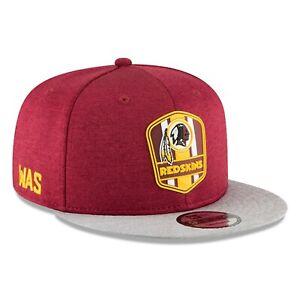 Washington Redskins NFL 2018 Sideline Road 9Fifty Snapback Hat - Burgundy