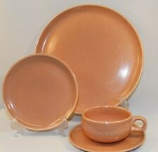 4 PC PLACE SETTING RUSSELL WRIGHT CORAL AMERICAN MODERN DINNERWARE STEUBENVILLE