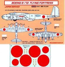 KORA Decals 1/72 BOEING B-17D FLYING FORTRESS CAPTURED JAPANESE VERSION