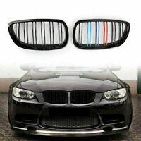 Front Grille Parrilla ///M Color Black Para BMW 06-09 E92 E93 328i 335i 2DR