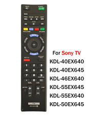 New Replace Remote RM-YD075 fit for Sony Bravia TV KDL60EX645 KDL55EX645