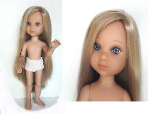 poupée berjuan Eva articulée 13 articulations blonde yeux bleus NEUF