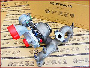 NEU Original VW Turbolader / Golf 5 Touran Passat Audi A3 Seat Skoda Octavia OVP