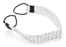 Zest Wide Braided Headband Hair Accessory Silver