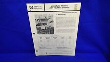 Hp 10017A 10018A 10040A 10041A 10042A Operating Note May 1983