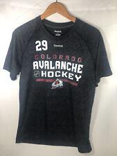 Nathan MacKinnon Colorado Avalanche Reebok T-Shirt Sz Large