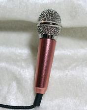 1/3 1/4 Miniature mini microphone mic BJD SD doll prop music instrument Brass