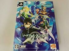 PS Vita Sword Art Online Lost Song Limited edition BOX from JAPAN PSV game F/S