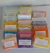15 Soap Samples Shower Favors Variety Scents Glycerin Grab Bag Baby Wedding