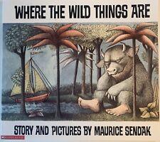 BRAND NEW 1991 WHERE THE WILD THINGS ARE BOOK BY MURICE SENDAK