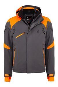 Spyder Men's 153034-099 Ski Jacket Garmisch Jacket Grey