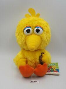 "Big Bird Sesame Street B0907 Omron Entertainment Plush 6"" TAG Toy Doll Japan"