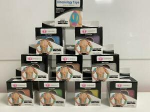 Staysput NEW KT Tape (Kinesiology tape) 5M x 5cm roll fashionable colour choices