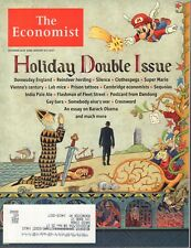 The Economist December 25 2016 January 6 2017 Mario, Obama w/ML 090217nonDBE
