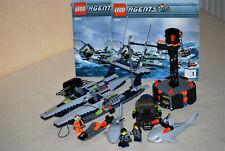 Lego® 8633 Agents Mission 4 Rettung mit dem Schnellboot mit Figuren+Anleitung