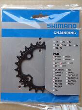 Shimano Kettenblatt für Kurbel Deore FC-M610/M590 4-Arm, 10-fach, 24 Zähne, NEU