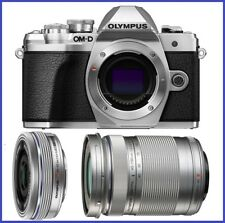 Olympus OM-D E-M10 Mark III Digital Camera + 14-42mm EZ + 40-150mm Lenses