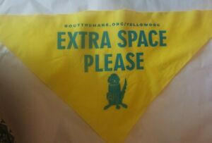 A Dog Bandana  Scarf Yellow Dog Extra space Open Space Routt County Colorado