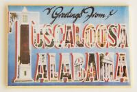 Greetings from Tuscaloosa Alabama FRIDGE MAGNET travel souvenir