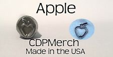 Apple Metal Design Stamp CDPMerch Metal Punch For Jewelry Blanks
