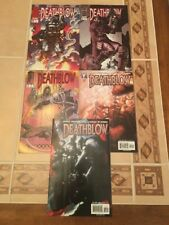 Lot of 5 Deathblow Comics from Image Comics!! See Pics!! Jim Lee!!