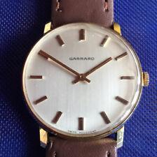 Vintage Garrard Gold Presentation Gents Watch.