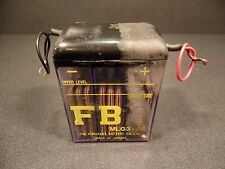 1968 68 SCR DUCATI 350 WC DESMO FURUKAWA BATTERY CO. FB MLG3 USED BATTERY