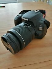 Canon EOS 2000D 24.1MP Digital SLR Camera - Black (Kit with 18-55 f/3.5-5.6 IS …
