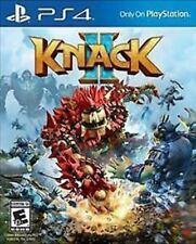 Knack II 2 USED SEALED (Sony PlayStation 4, 2017) PS4