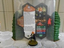 Heroscape Custom Blackfire Double Sided Card and Figure with Sleeve DC