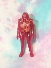 "Vintage Disney Tron RED WARRIOR 4"" Action Figure 1981 Tomy Japan"