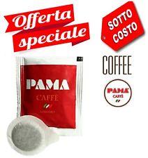 200 Cialde Caffè Pama FiltroCarta ESE 44mm miscela gusto Robusto