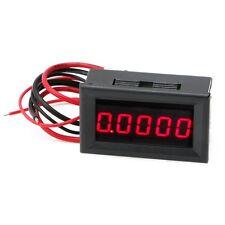 """0.36"""" LED Display Meter Digital Ammeters Panel 5 Digit Current Amp Gauge Tester"""