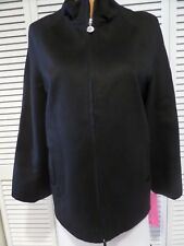 NWT Womens Betsey Johnson Jacket Coat Style Y022053 Black Size Small