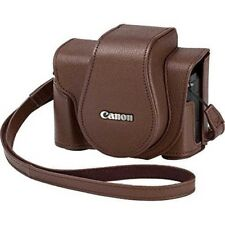 Canon Csc-G10bw Soft Case Braun für Powershot G1 X Mark III Japan mit Tracking