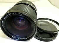 Ricoh P 28-100mm f4.0 Zoom Lens Pentax PK K M Mount manual focus works good