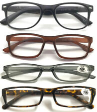 """""""Cheaper"""" Unisex Lightweight Plastic Plain Frame Designed Reading Glasses ^^^^^"""