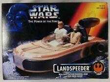 1995 Star Wars Landspeeder Power Of The Force SET Sealed In Box