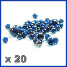 Glass marbles , 20 PCS, 14 mm, glass round  ball ,marble game,playing ,small SYD