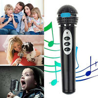 Child Kids Girls Boys Microphone Mic Karaoke Singing Fun Music Toy Gift Solid