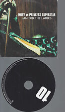 CD--MOBY VS PRINCESS SUPERSTAR JAM FOR THE LADIES--PROMO