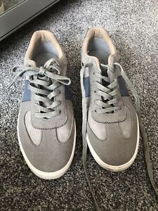Mens Trainers Grey  size 9 Eur 43