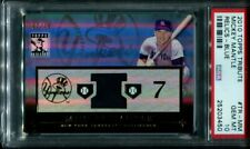 2009 Topps Tribute Mickey Mantle PSA 10 Blue Relics Jersey /75 pop 1 TR-MM