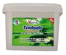Teichsalz Winterschutz 3.000 g - Teich Schutz Stärkung Immunsystem Sauerstoff (9