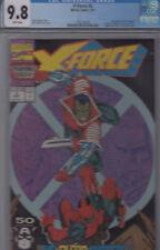 X-FORCE #2 (SEP 1991) CGC 9.8 * 2nd DEADPOOL app. * 1st app WEAPON X (G.KANE) *
