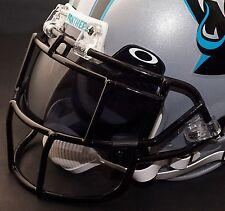 CAROLINA PANTHERS NFL Schutt EGOP Football Helmet Facemask/Faceguard (BLACK)