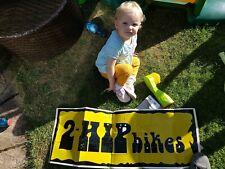 2 Hip Bmx Ramp Sticker Mid School Toddler Size!