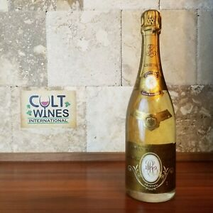 RP 98 pts! 1999 Louis Roederer Cristal Champagne wine, France