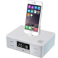 Bluetooth Speaker Dock for IPhone  Alarm Clock Radio Microphone Wireless New