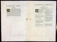 1541 Fries Ptolemy Antique Map The Caucasus Georgia, Armenia, Azerbaijan, Russia